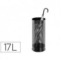 Porte-parapluie sign metallico métal ajouré capacité 17l...