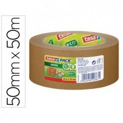 Ruban adhésif tesa emballage papier kraft écologique 50x50mm