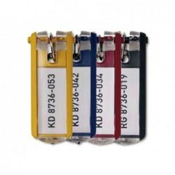 Porte-clés carpentras porte-étiquette plastique 56x29mm...