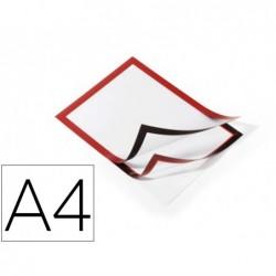 Cadre affichage durable dos adhésif contour magnétique...
