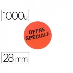 Étiquette adhésive apli pré-imprimée offre spéciale...