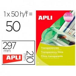 Film transparent apli a4 pour imprimante laser couleur...