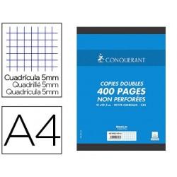 Copie double conquérant sept a4 21x297cm 400p 5x5mm non...