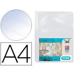Pochette coin elba pvc 15/100e incolore transparent a4...