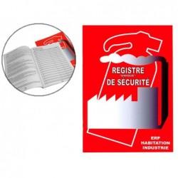 Registre unique de sécurité safetool format a4 60 pages