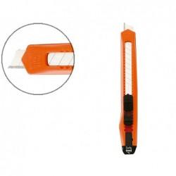 Cutter olfa corps plastique petit modèle lame 9mm
