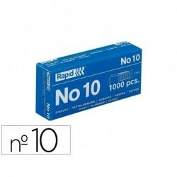 Agrafe safetool nº10 galvanisée boîte 1000 unités