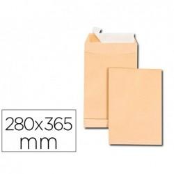 Pochette gpv kraft 120g 26 280x365mm soufflet 30mm paquet...