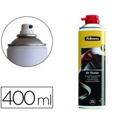 Aérosol dépoussiérant fellowes écologique sans gaz hfc 400ml