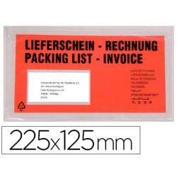 Enveloppe q-connect porte-documents 225x125mm...