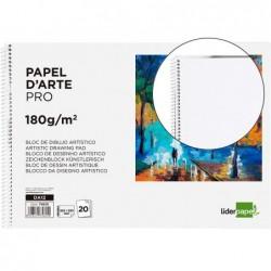 Bloc liderpapel papier dessin artistique spirale sans...