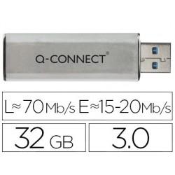 Clé usb q-connect 3.0 32gb lecture 70mb/s écriture...