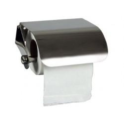 Distributeur papier toilette q-connect acier inoxydable...