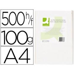 Papier q-connect multifonction ultrawhite a4 100g/m2...