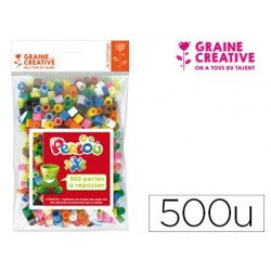 Sachet de 500 perles mixtes xxl 10mm