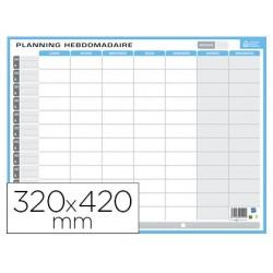 Planning scolaire bouchut hebdomadaire et annuel 32x42cm