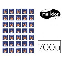 Gommette éducative maildor bon points renards 148x210mm...
