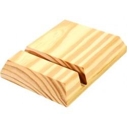 Porte tablette graine créative en bois à décorer 96x25x126mm