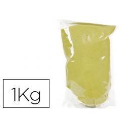 Sable graine créative n.40 sac de 1kg coloris jaune