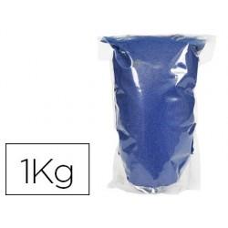 Sable graine créative n.23 sac de 1kg coloris bleu lumiere