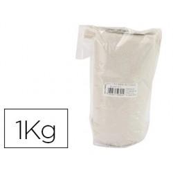 Sable graine créative n.2 sac de 1kg coloris blanc