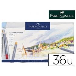 Crayon couleur faber castell goldfaber aquarellable boîte...