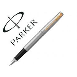 Stylo-plume parker jotter acier gt plume m gb inclut 2...