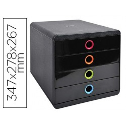 Module classement exacompta pop-box iderama 4 tiroirs a4+...