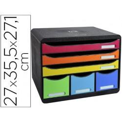 Module classement exacompta store-box maxi 3 tiroirs a4+...