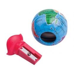 Taille-crayon maped globe réservoir 1 usage coloris assortis