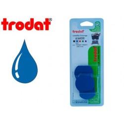 Recharge tampon trodat printy 46030/46130 bleu blister 3...