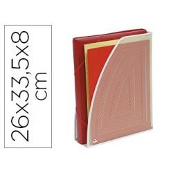 Porte-revues alba métal mesh perforé 260x80x335mm coloris...