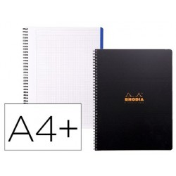 Cahier clairefontaine rhodia 4 colors book a4+ 90g 160...