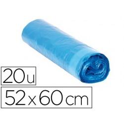 Sac poubelle domestique 52x60cm calibre 70 capacité 20l...