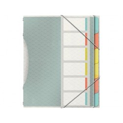 Trieur esselte colour'ice polypropylène texturé 266x320mm...