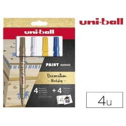 Marqueur uniball paint marker px-21 permanent pointe fine...