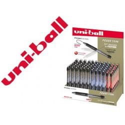 Présentoir de 72 stylos-billes uniball powertank rt