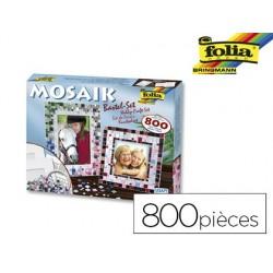 Mosaïque folia kit bricolage avec environ 800 pièces et 2...