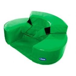 Fauteuil sumo didactic b•b• 60x15cm vert