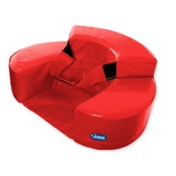 Fauteuil sumo didactic b•b• 60x15cm rouge