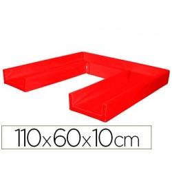 Matelas sumo didactic pliable 110x60x10cm rouge