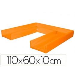 Matelas sumo didactic pliable 110x60x10cm orange