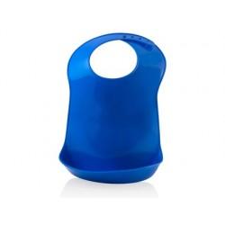 Jeu miniland bavoir plastique translucide 31cm hauteur bleu
