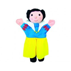 Jeu andreutoys marionnette main blanche-neige 30cm