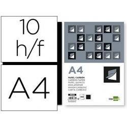 Papier carbone liderpapel film noir format a4 boîte de 10...