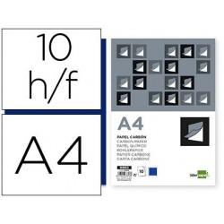 Papier carbone liderpapel film bleu format a4 boîte de 10...