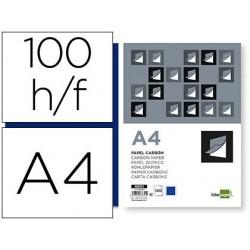 Papier carbone liderpapel film bleu format a4 boîte de...
