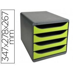 Module classement exacompta big box 4 tiroirs ouverts...