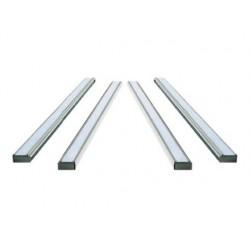 Support nobo bandes fixes aluminium anodisé indice 24...