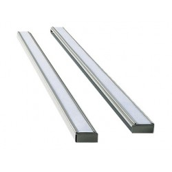 Support nobo bandes fixes aluminium anodisé indice 15...